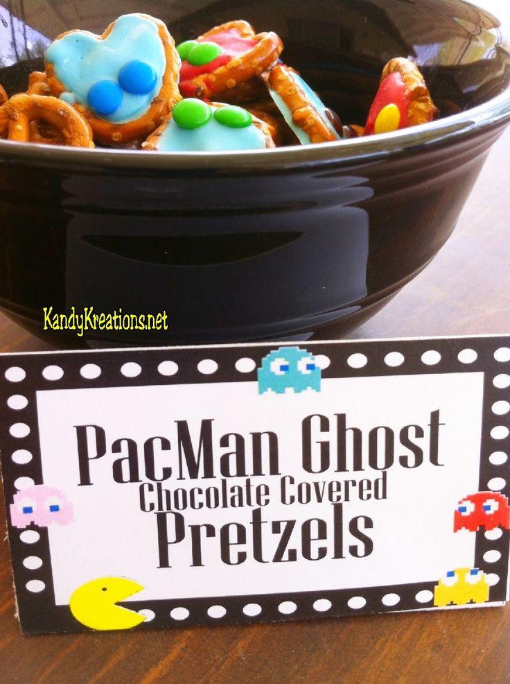 Pac Man Snacks