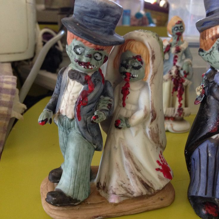 Altered figurine , #art #alteredart #kimblestar #kimdyson #zombie