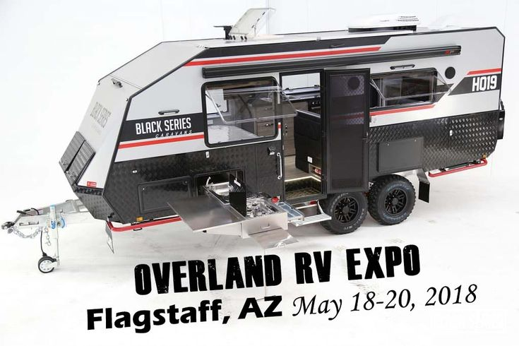Australian Campers and Caravans in America at the Holiday RV South Booth, Overland RV Expo May 18-20 in Flagstaff
