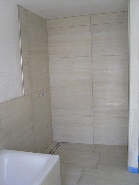 Begehbare Dusche Glasscheibe :  auf Pinterest  Badezimmer, Begehbare dusche und Badewanne fliesen