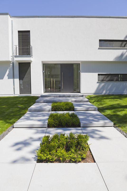 43 besten vorgarten eingang treppenanlagen bilder auf for Vorgarten minimalistisch