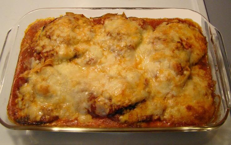 Made this for dinner last night and it is DELICIOUS! - Just serve with a salad.  Eggplant Recipes Baked | Delicious Low Carb Eggplant Parmesan Recipe