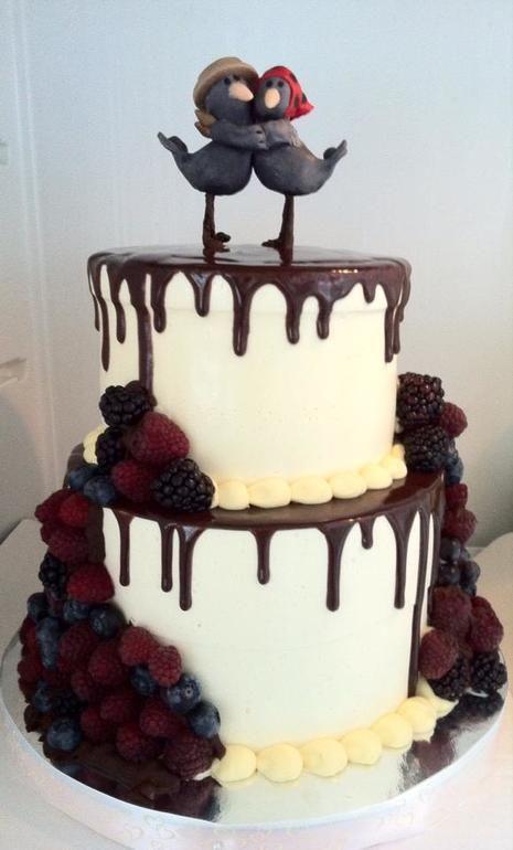 Свадебный торт без мастики - Кондитерская - Babyblog.ru