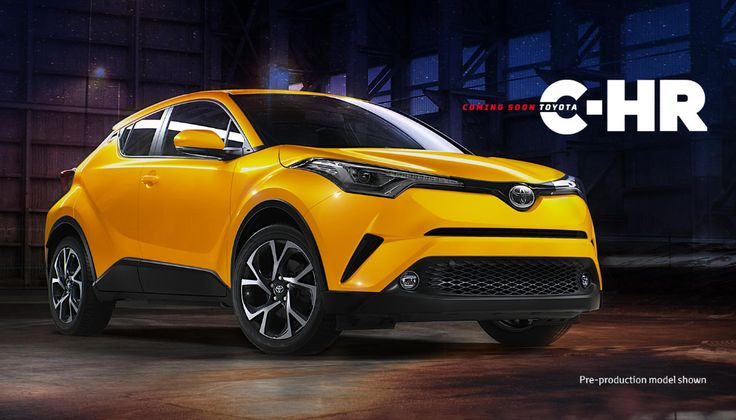 Toyota C-HR Yellow Tone สีเหลืองสุดสปอร์ต