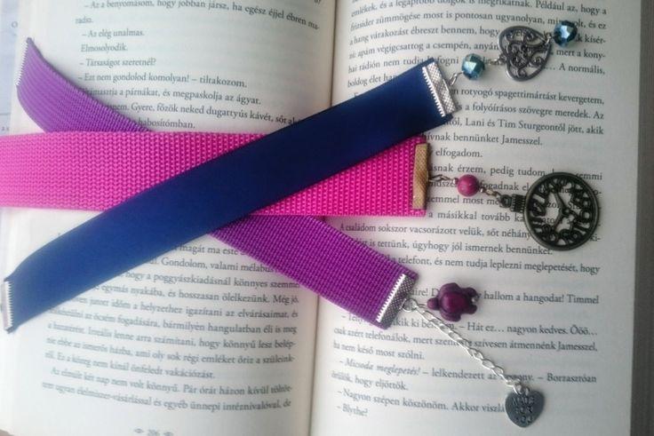 Bookmark - Ribbon & Bead