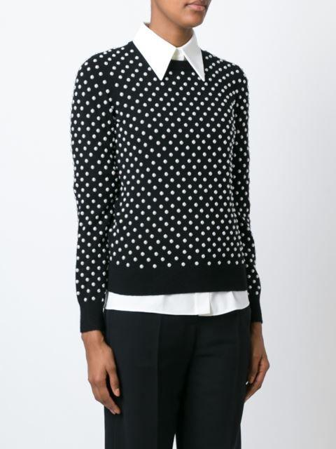 e7a1f4a8 Michael Kors pearl embellished sweater | Knitwear - Strik - Stricken ...