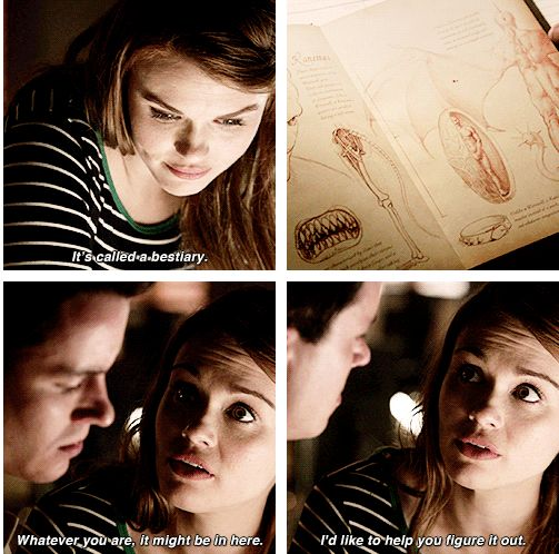 "Teen Wolf Season 04 Episode 12 ""Smoke and Mirrors"" Season Finale. Lydia Martin and Deputy Parrish."