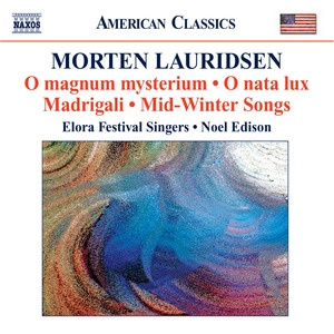 Lauridsen - thank you to Mr Spruce who introduced us - fabulous