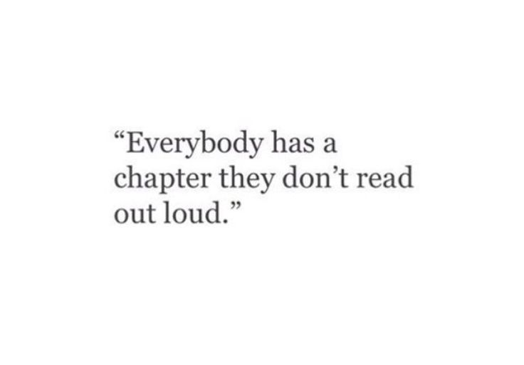 There is...