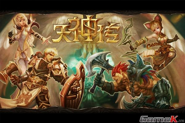 hình ảnh giới thiệu game thiên thần truyện trên mobile