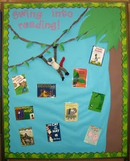 Great Idea for books read. Use for board to go with theme or author study. If you copy cover of each book read, you could track an entire year!