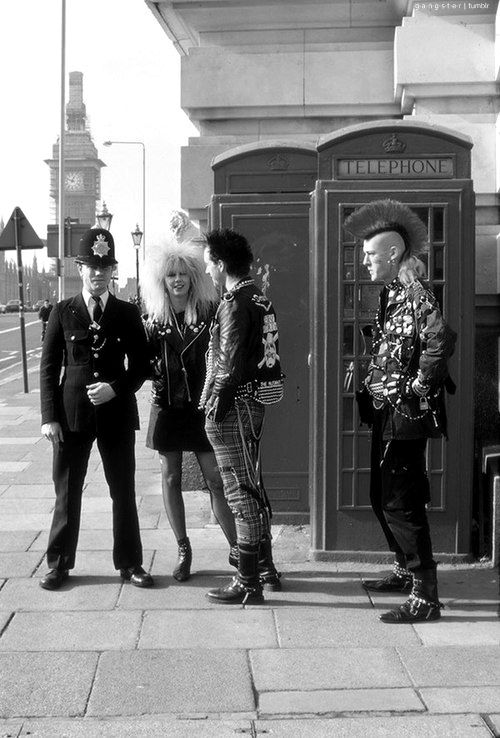 Ahhh the punk era.. that would have been me!