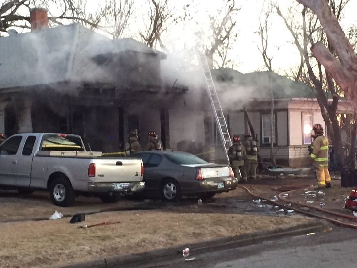 5 people hospitalized in early morning NW OKC house fire, 3 are in critical condition, and 3 of the 5 are children.