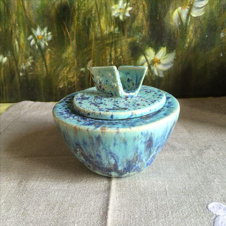 Sucrier céramique réalisé dans mon atelier