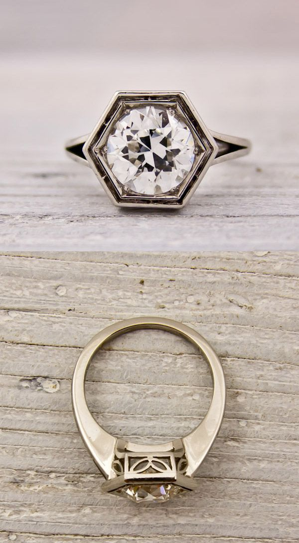 Best 25 Art deco engagement rings ideas on Pinterest