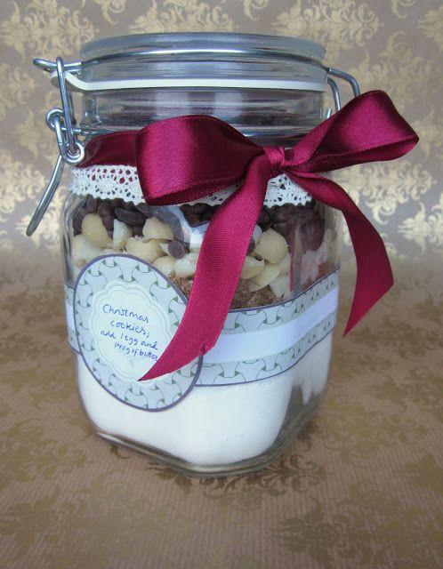 Dr. Sugar: Christmas Cookies in a jar