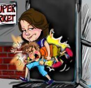 Egy anya, aki már könnyebben kezeli a gyermeke játszmáit