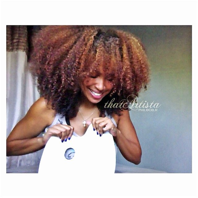 34 best colored natural hair images on Pinterest | Colored natural ...