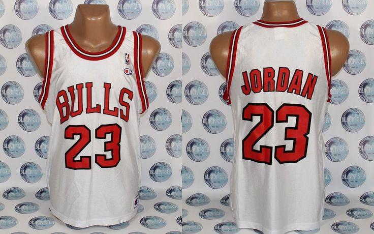 CHICAGO BULLS #23 MICHAEL JORDAN BASKETBALL NBA SHIRT JERSEY  TRIKOT 44 #ChicagoBulls