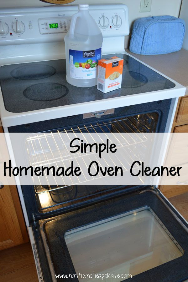 An environmentally-friendly, homemade oven cleaner that you can make for pennies with things you already have in your pantry.