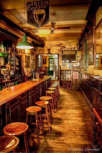 Irish Bar Near The Cathedral