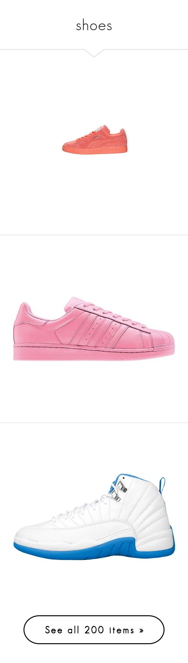 """""""shoes"""" by pimpdaddyk ❤ liked on Polyvore featuring shoes, sneakers, puma, lace up shoes, punk platform shoes, creeper platform shoes, puma shoes, suede shoes, platform trainers and puma trainers"""