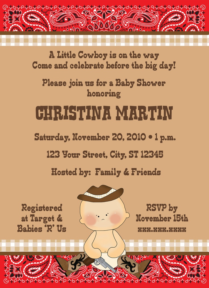 99 best Baby Shower Invitations images on Pinterest | Birthday ...