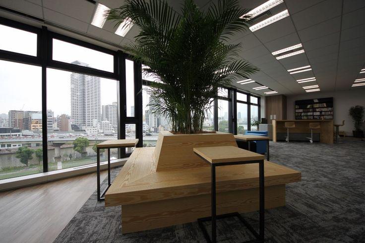 最高のリフレッシュができる、ロケーションを最大限に活かしたデザイン|オフィスデザイン事例|デザイナーズオフィスのヴィス