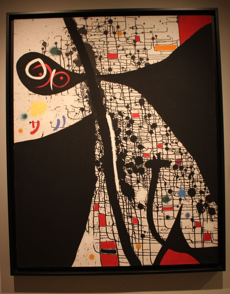 Joan Miro 'Birds of the Caves II' 1971
