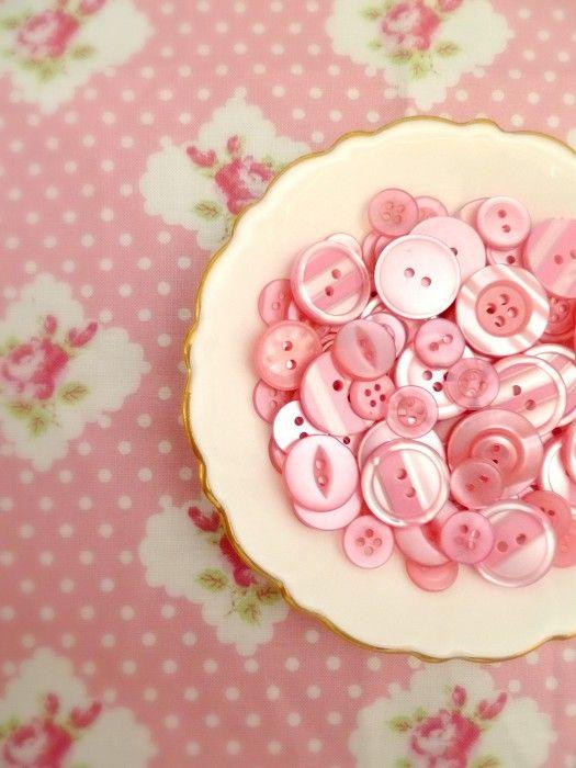 'Rosewater' Button Mix