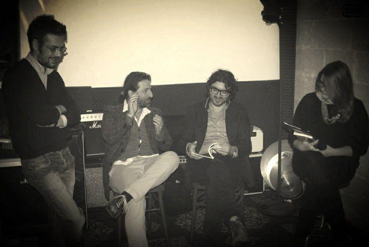 Presentazione al Casello Km97, con Ippolito Chiarello e Marcella Barone
