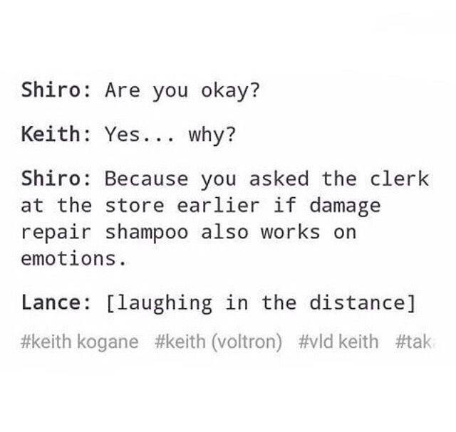 Keith: That ... wasn't for me.