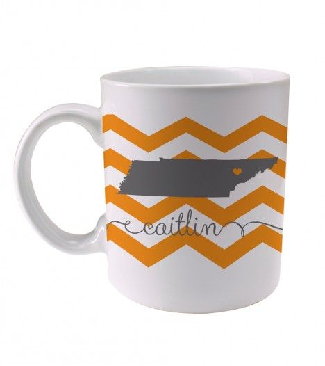 Tennessee chevron coffee mug