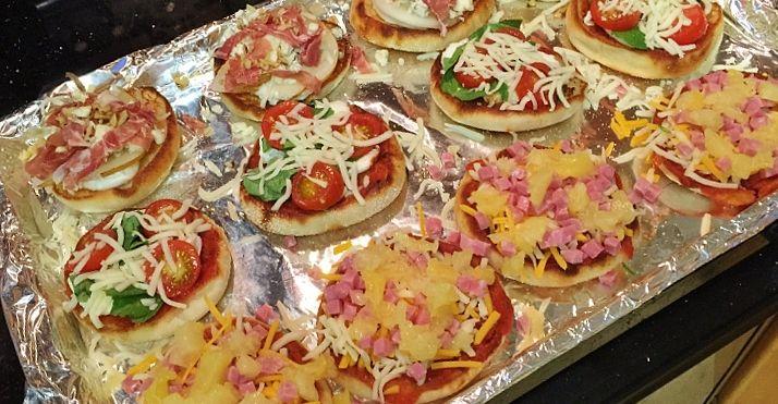 Caprese English Muffin Pizza Recipe