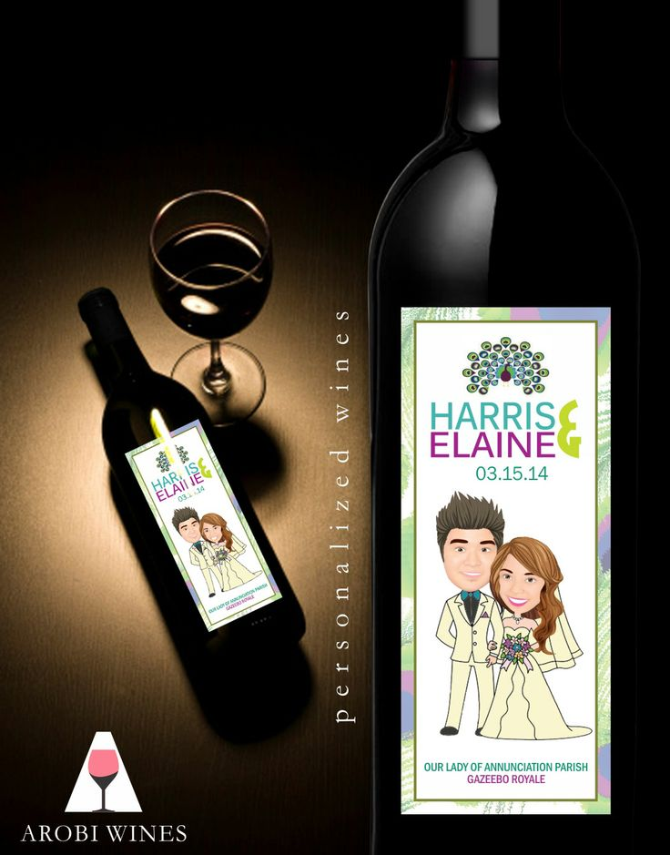 Unique Wedding Gifts Manila : 17 Best images about PERSONALIZED WINE MANILA WEDDING FAVOR on ...