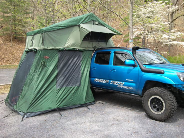 Toyota Tacoma Canopy >> FS in VA: Mombassa roof top tent and rack. - Nissan ...