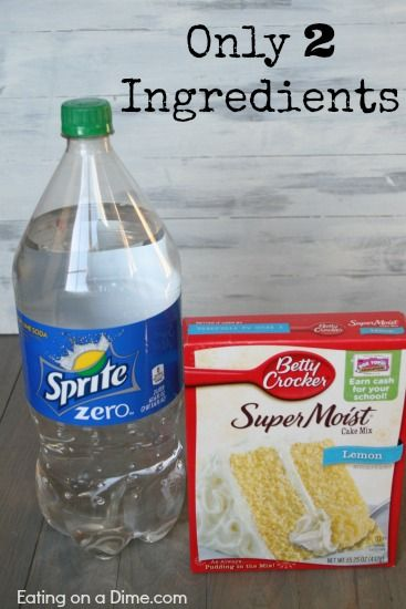 only 2 ingredients in the perfect diet cupcake recipe