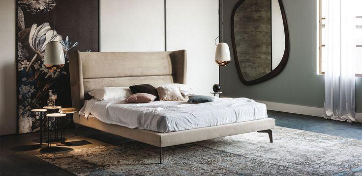 Cattelan Italia Ludovic bed by Manzoni & Tapinassi