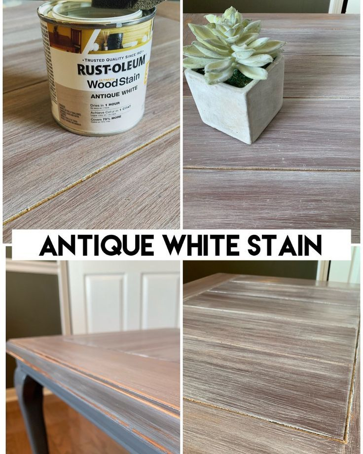 How To Antique White Stain A Table Let S Paint Furniture Antique White Furniture Antique White Stain Painting Antique Furniture