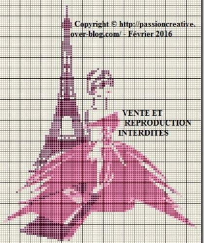 213 best images about points croix paris on pinterest voyage cross stitch and modern cross - Grille point croix gratuite ...