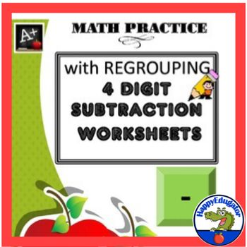 152 best Subtraction Multiple Digits images on Pinterest - subtraction frenzy worksheets