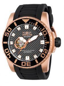 Reloj Invicta Pro Diver, toda la deportividad y elegancia concentrada en 52mm de caja de acero, correa de silicona y maquinaria automática japonesa. www.relojes-especiales.net #automático #japones #bisel