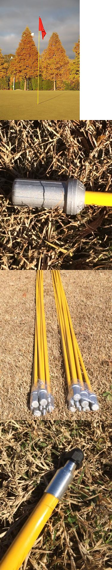 Other Golf Training Aids 14109: Set Of 9 Golf Flag Sticks (Flag Not Included) Flagstick -> BUY IT NOW ONLY: $119 on eBay!