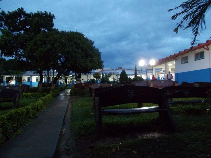 Casa de Dom Inacio and the garden in the evening, after  rain   #JohnofGod #CasadeDomInacio #energyhealing #faithhealing #entities  #CasaGarden
