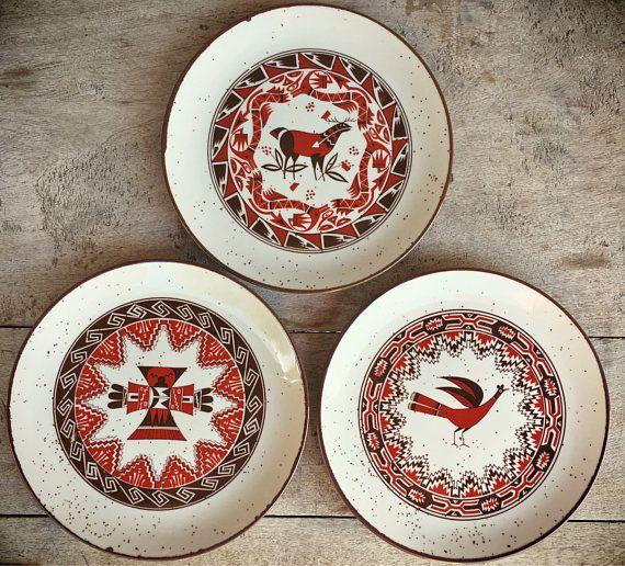 Southwestern Decor From H M: 25+ Best Southwestern Dinnerware Ideas On Pinterest