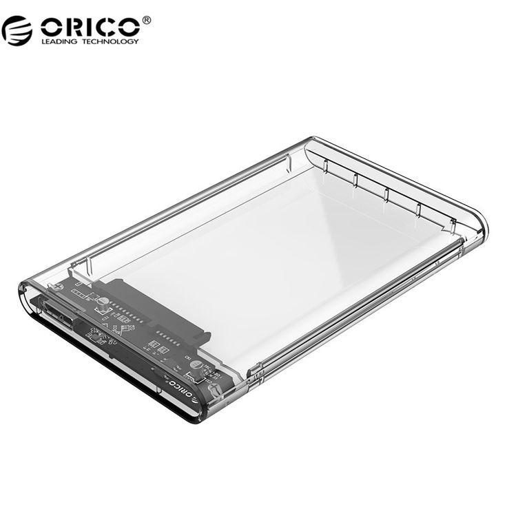 ORICO 2139U3 Жесткий Диск Корпус 2.5 дюймов Прозрачный USB3.0 Жесткий Диск Корпус UASP Поддержка Протокола купить на AliExpress