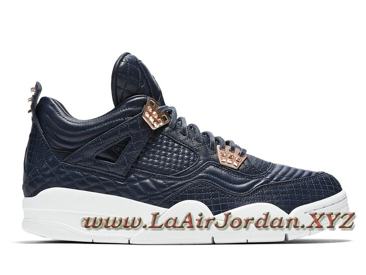 Air Jordan 4 Premium Obsidian 819139_402 Chaussures Officieil jordan Pour  homme Deep Bleu