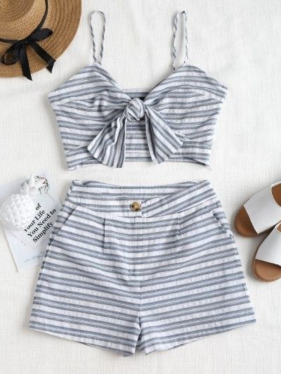 83a2b28af8 Gorgeous little 2 piece from Zaful. Great for the beach!! | Zaful in ...