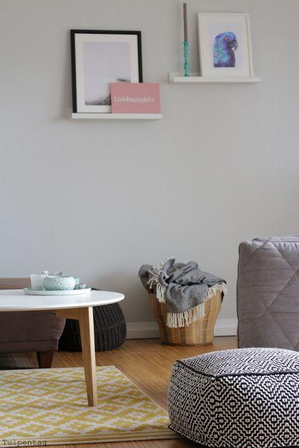 Kreidefarbe DIY Und Bilder Aus Dem Wohnzimmer