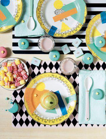 DIY déoc : des assiettes vintages peintes - DIY classic plates makeover - Marie claire idées